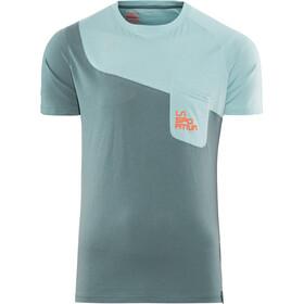 La Sportiva M's Climbique T-Shirt Slate/Stone Blue